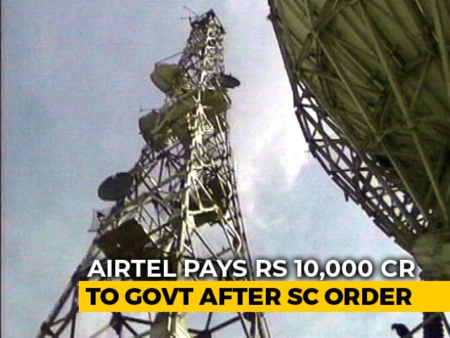 Video : Telecom Firms Make Part-Payment Of AGR Dues As Top Court Refuses To Relent