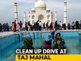 Video : Taj Mahal Gears Up For Trump's India Visit