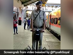 Railway Cops Cruise Goa Station On Segway, Union Minister Tweets Video