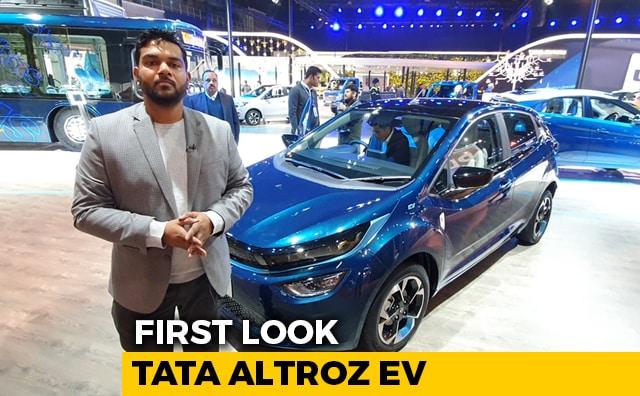 Tata Altroz EV First Look