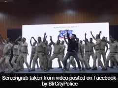 Watch: Bangalore Cops Beat The Stress With Zumba Dance