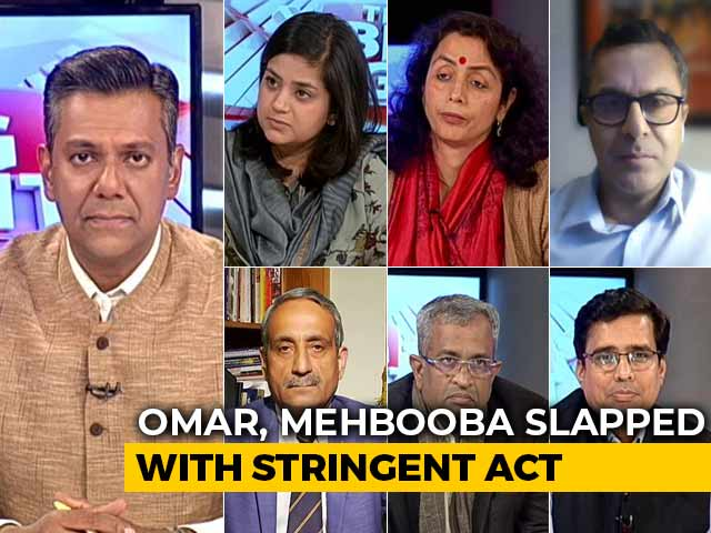 Video : Omar Abdullah, Mehbooba Mufti Slapped With PSA: Violation Of Democracy Or Essential For 'Normalcy'?