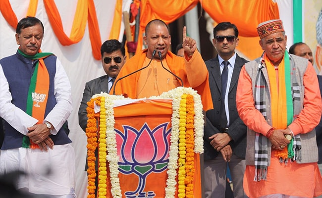 Opposition's Ram Temple Anger Behind Farmers' Protest: Yogi Adityanath