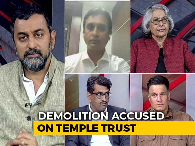 Video : Ayodhya Shocker: Babri Accused On Temple Trust