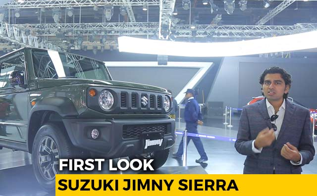 Suzuki Jimny Sierra First Look | Auto Expo 2020