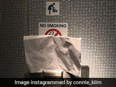 Dutch Airline Apologises After Staff's Coronavirus Toilet Note Sparks Outrage