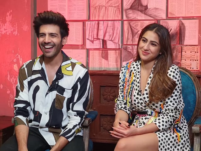 Kartik Aaryan And Sara Ali Khan React To Sartik