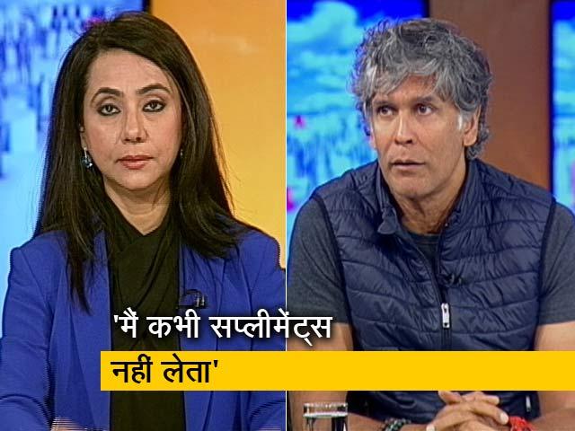 Videos : हम लोग : सुपर मॉडल व फ़िटनेस आइकॉन मिलिंद सोमन से मिलिए नए रूप में