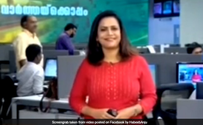 Watch: News Anchor Realises She Has Won An Award During Live Broadcast