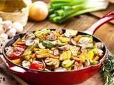 Video : Stir Fried Vegetables In Garlic Sauce Recipe