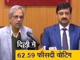 Video : दिल्ली में 62.59 फीसदी वोटिंग हुई, चुनाव आयोग ने जारी किए अंतिम आंकड़े