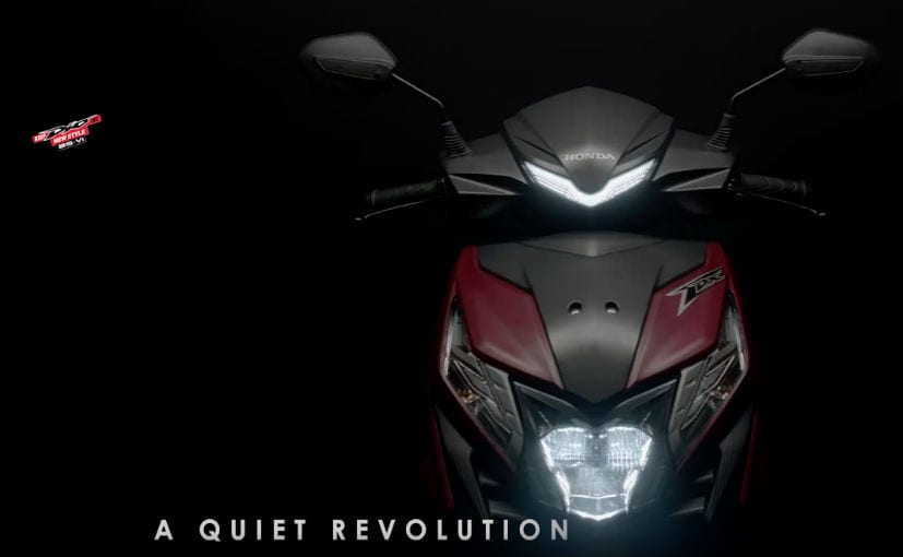 2020 Honda Dio BS6 Teased Ahead Of Launch