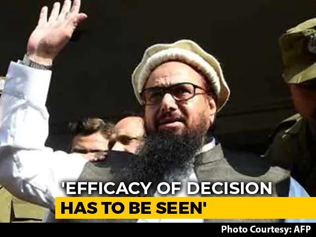 "Video : On Pak Jailing Hafiz Saeed, Government Sources Question ""Efficacy"""