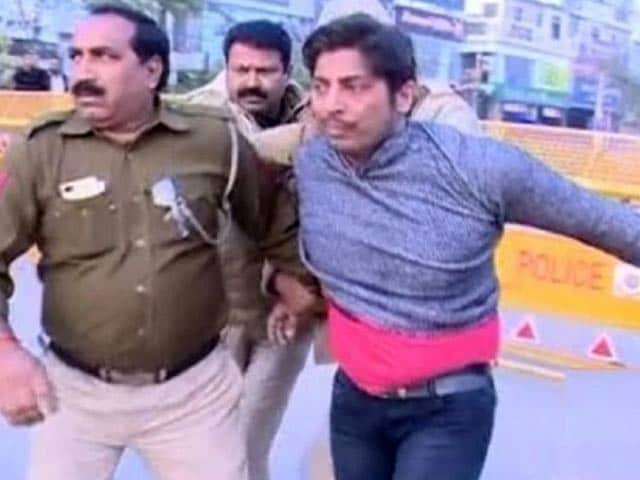 Video : Firing At Shaheen Bagh, Delhi's Second In 3 Days At An Anti-CAA Protest