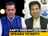 "Video: AAP's Raghav Chadha On Shaheen Bagh Protests: ""Delhi Law And Order Under Centre"""