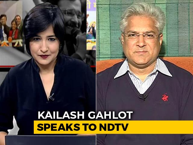 Poll Animosity Thing Of Past: Delhi Minister Kailash Gahlot