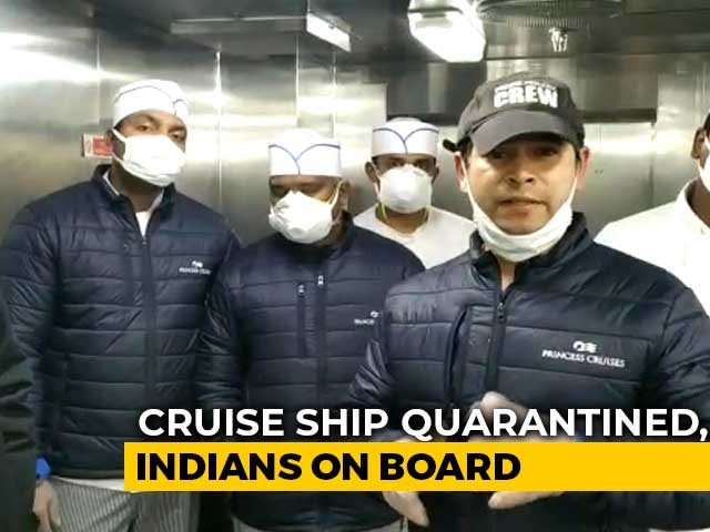 Video : Indian Crew's SOS Video From Japan Ship Quarantined Over Coronavirus