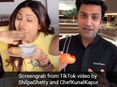 Shilpa Shetty And Kunal Kapur Share 'Pani Puri' Videos On TikTok. Seen Them Yet?