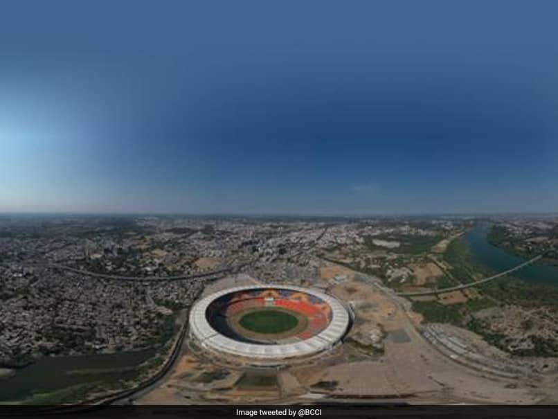 """Motera Stadium: BCCI Shares Aerial View Of """"Worlds Largest"""" Cricket Facility. Post Goes Viral"""