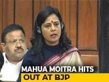 Video : TMC MP Mahua Moitra Hits Out At BJP In Lok Sabha Over CAA