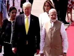 PM Modi Welcomes Donald Trump In Ahmedabad. Roadshow, Event Soon