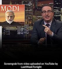 Comedian John Oliver Trends On Twitter For Remarks On CAA Against PM Modi
