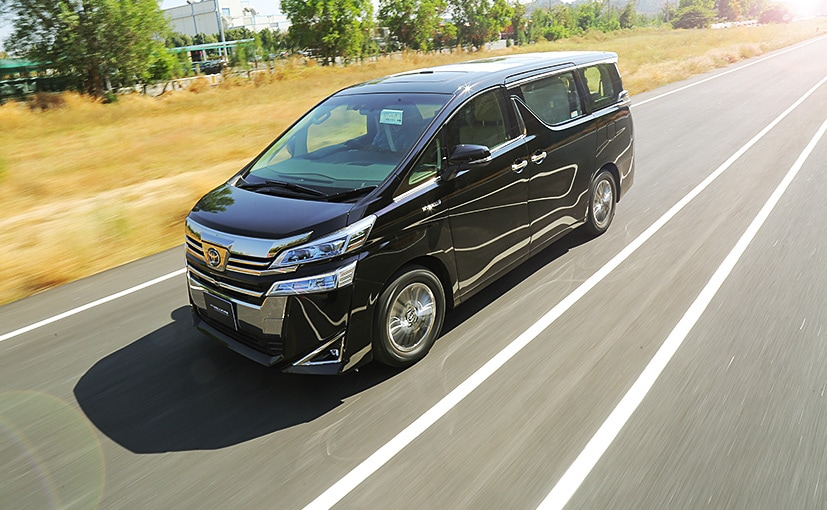 The Toyota Vellfire MPV will be brought to India as a completely built unit (CBU)