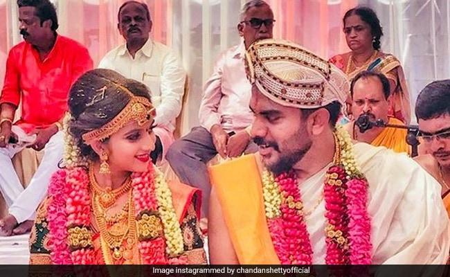Bigg Boss Kannada 5 Winner Chandan Shetty Marries Niveditha Gowda