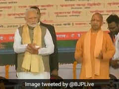 PM Modi Lays Foundation Stone Of Bundelkhand Expressway In UP's Chitrakoot