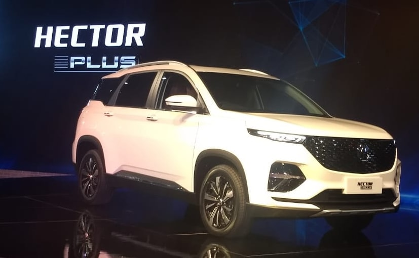 Auto Expo 2020: MG Hector Plus (6-Seater) SUV Unveiled