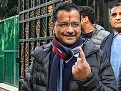 New Delhi सीट पर Arvind Kejriwal आगे, बीजेपी उम्मीदवार पीछे