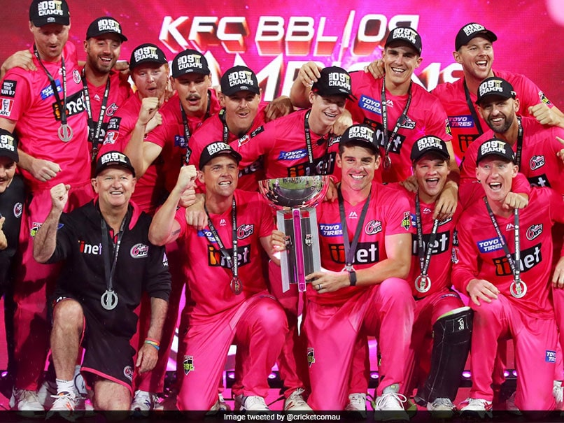 Big Bash League: Sydney Sixers Beat Melbourne Stars To Claim 2nd Title