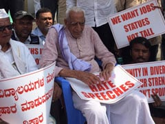This 102-Year-Old Bengaluru Man Just Finished A 5-Day Protest Against CAA