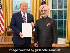 Donald Trump Welcomes India's New Ambassador To US