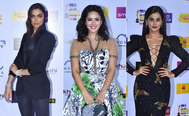 Mirchi Music Awards: Deepika Padukone, Taapsee Pannu And Sunny Leone Dazzle On The Red Carpet
