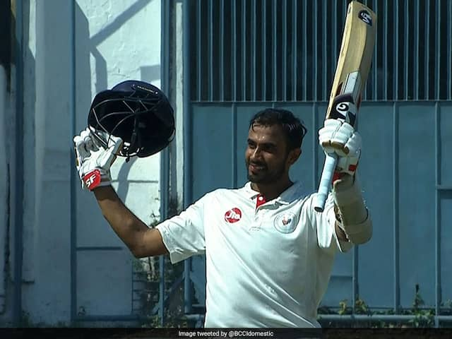 Ranji Trophy: Roosh Kalarias Hundred Helps Gujarat Finish Day 2 On Top Against Goa