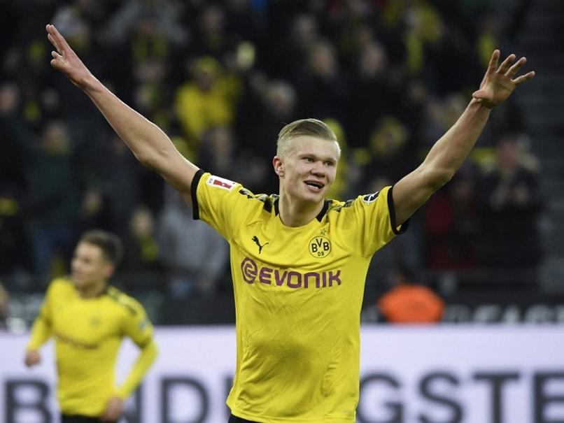 Erling Haaland Scripts Bundesliga History As Borussia Dortmund Thrash Union Berlin
