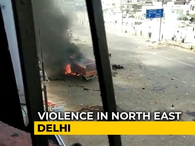 Video : How The Clashes Over CAA Unfolded In Northeast Delhi