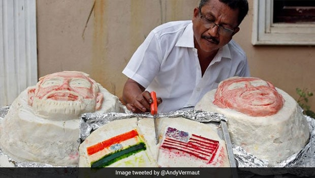 Believe It Or Not: Chennai-Based Food Artist Creates Massive 107kg Idlis To Welcome Donald Trump In India