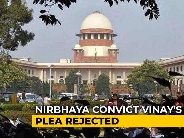 Video : Nirbhaya Convict Vinay Sharma's Plea Against Mercy Petition Dismissed