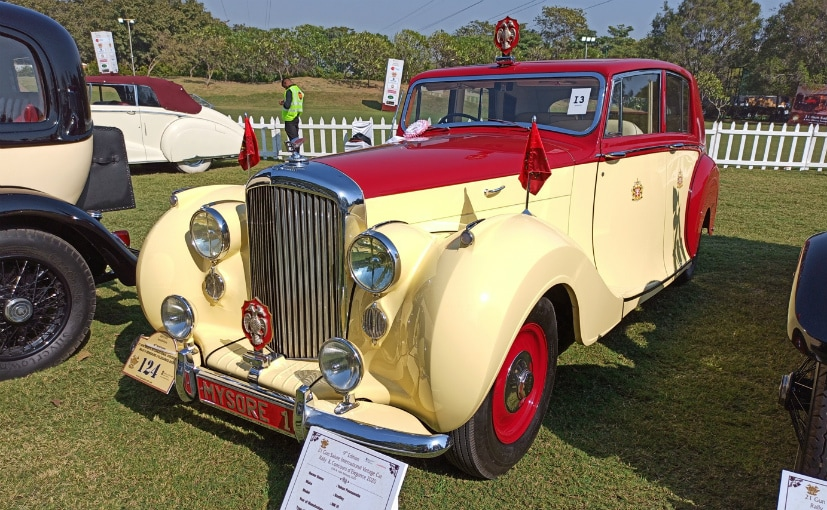 A 1949 Bentley MK VI Razor Edge, owned by Yohan Poonawala took the award for the Best of Show