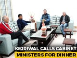 Video: Arvind Kejriwal Calls Cabinet Ministers For Dinner Ahead Of Swearing In