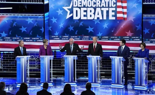 Democrat Rivals Unite Against Billionaire Michael Bloomberg At Debate