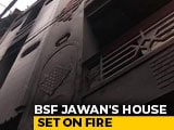 Video : BSF Jawan's House Vandalised, Set On Fire During Delhi Violence