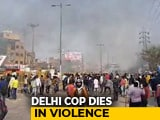 Video : Cop Killed In CAA Clashes In Delhi Hours Before Trump's Arrival