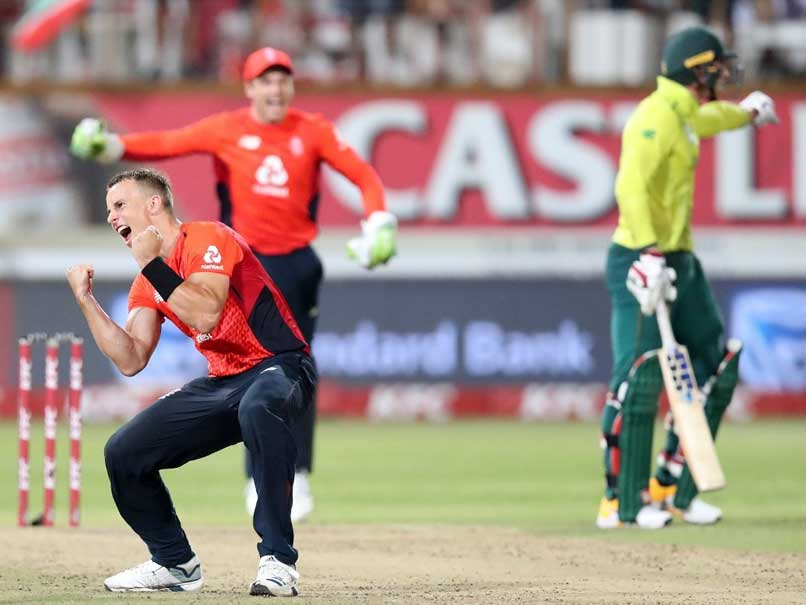 Lungi Ngidi stalls England charge to win thrilling first T20 worldwide