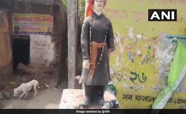 Swami Vivekananda's Statue Vandalised in Murshidabad District of Bengal