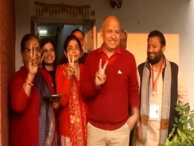 Video : AAP's Manish Sisodia Pulls Off Win After Trailing For Most Rounds