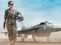 <I>Tejas</I> First Look: The Sky Is The Limit For Kangana Ranaut