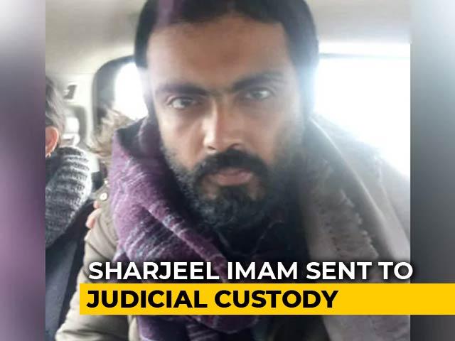 Video : Jamia Violence: Sharjeel Imam In Judicial Custody